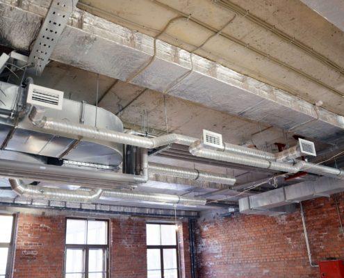 вентиляция как часть лофта