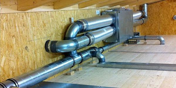 устройство вентиляции в деревянном доме